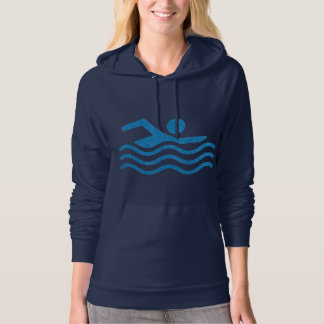 Swimming Sucess Swim Swimmer 101 Hoodie