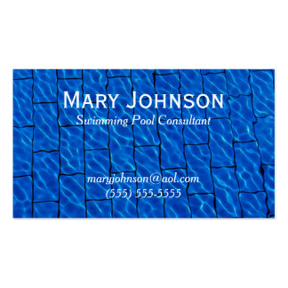 Swimming Teacher Swimming Instructor Swim Coach Business Card