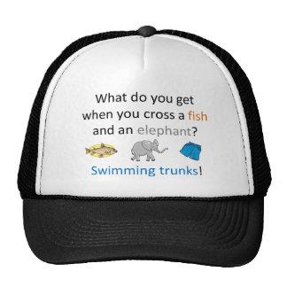 Swimming Trunks Joke Trucker Hat