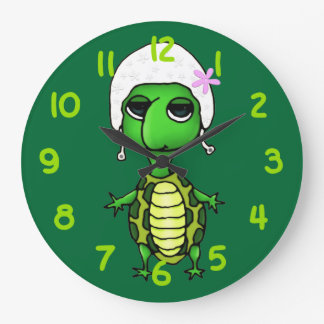 Swimming Turtle Wall Clocks