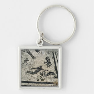 Swimming with the Dolphins, from the Frigidarium o Keychain
