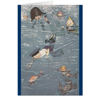 Swimming with the Fishes Card
