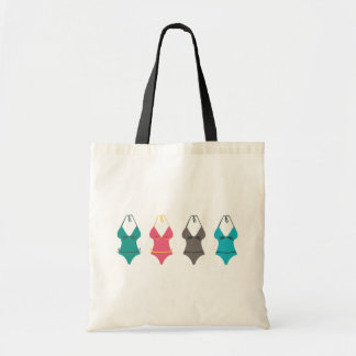 Swimsuit Budget Tote Bag