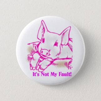 Swine Flu 2 Inch Round Button