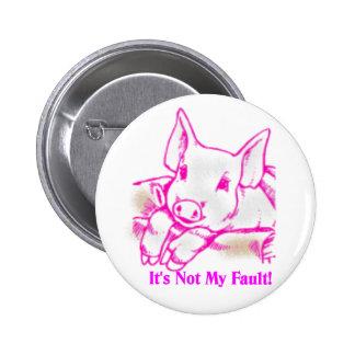 Swine Flu 2 Inch Round Button
