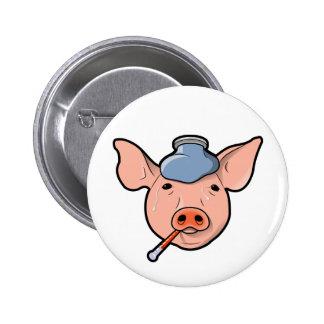 Swine Flu - Button