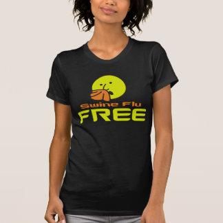 Swine Flu Free T-Shirt