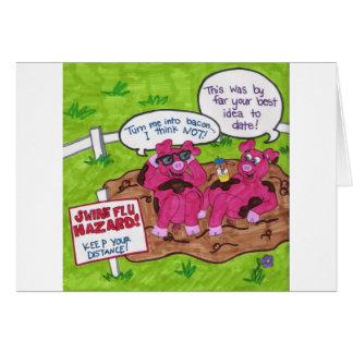 Swine Flu Hazard Card