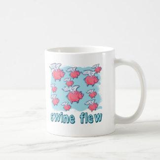 Swine Flu Humor Products Coffee Mug