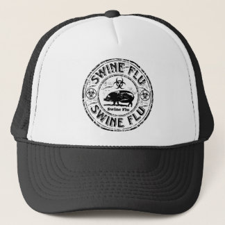 Swine Flu Stamp Hat
