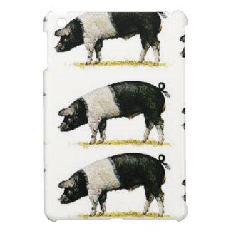 swine in a row iPad mini cover