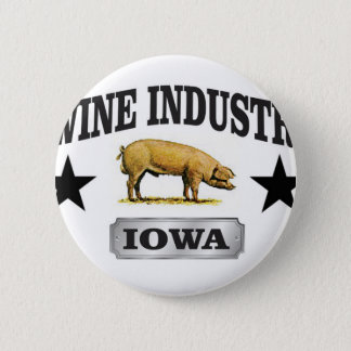 swine industry baby 2 inch round button