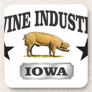 swine industry baby coaster