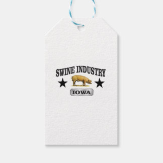 swine industry baby gift tags