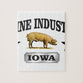 swine industry baby jigsaw puzzle