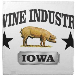 swine industry baby napkin