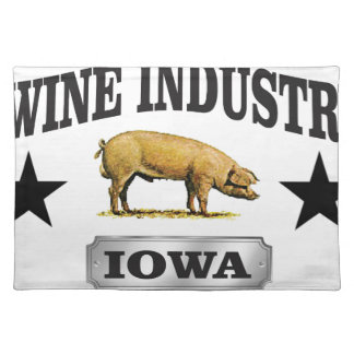 swine industry baby placemat