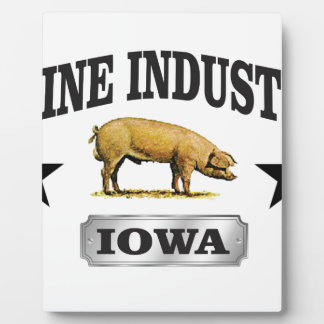 swine industry baby plaque