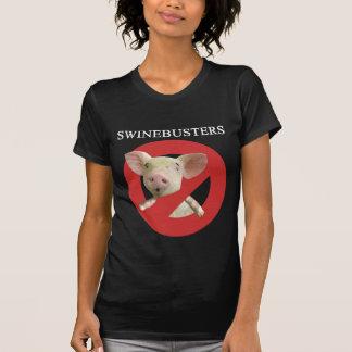Swinebusters Dark Ladies T-shirt