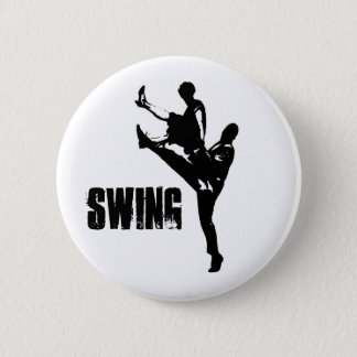 Swing Dance 2 Inch Round Button
