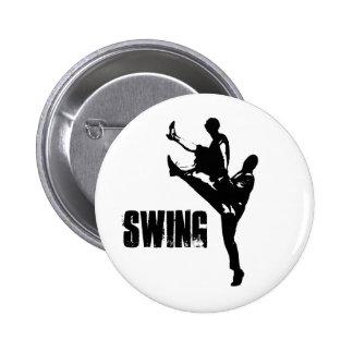 Swing Dance 2 Inch Round Button