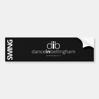 Swing Dance in Bellingham Bumper Sticker