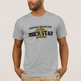 Swing Dancer Rock Star by Night T-Shirt