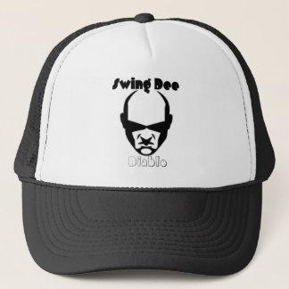 "Swing Dee Diablo""Round Mound""Logo Trucker Hat"