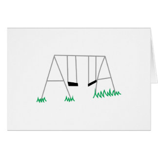 Swing Set Card