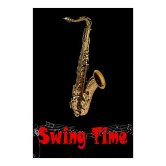 Swing Time 36 x 24 Poster
