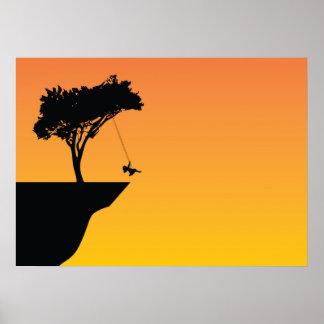 Swing tree poster