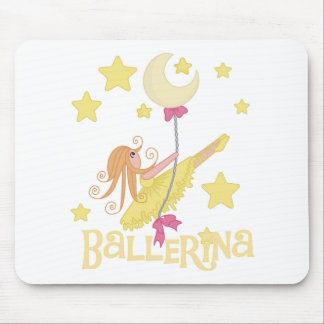 Swinging Ballerina Tshirts and Gifts Mouse Pad
