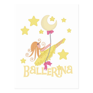 Swinging Ballerina Tshirts and Gifts Postcard