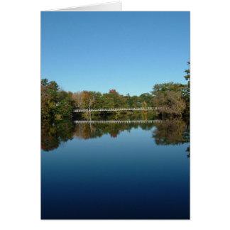 Swinging Bridge Card