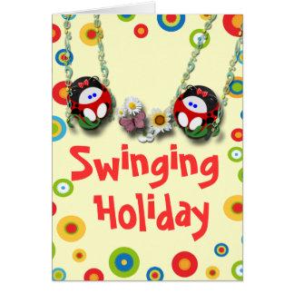 Swinging Holiday Card