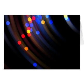 Swinging Lights Card