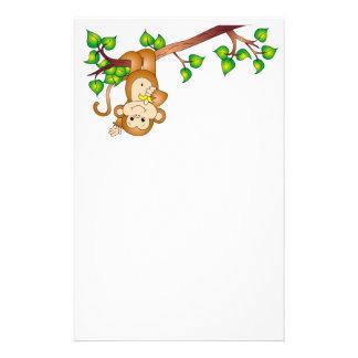 Swinging Monkey Stationary Stationery