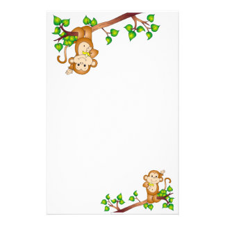 Swinging Monkey Stationery