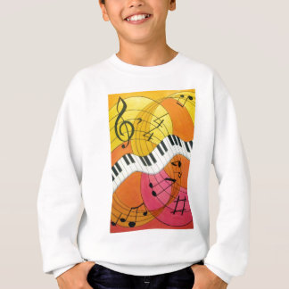 Swinging Piano Kids Sweatshirt