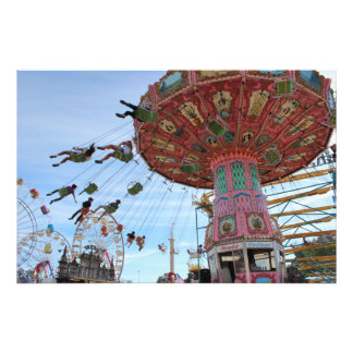 Swings At The Mid-State Fair Photograph