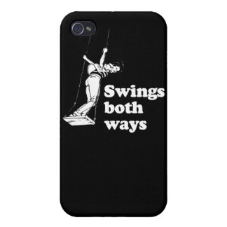 Swings both ways case for the iPhone 4