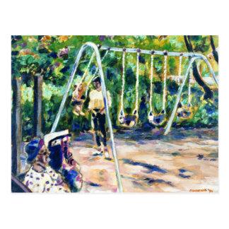 Swings Postcards