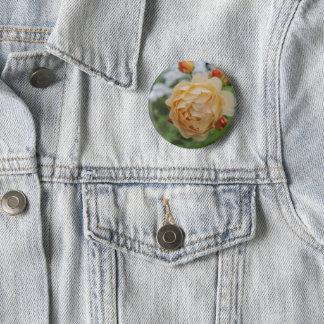 Swipe in round Bouton Roses Fleur 2 Inch Round Button