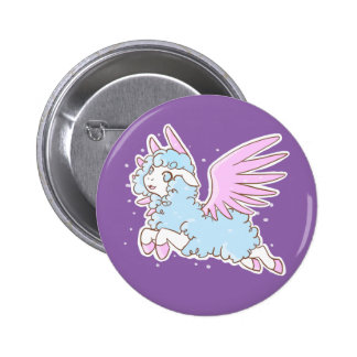 Swipes in kawaii Mouton of the dreams 2 Inch Round Button