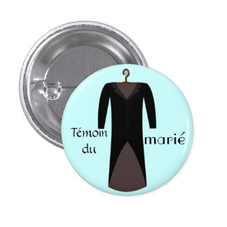 Swipes in pilot of the blue groom 1 inch round button