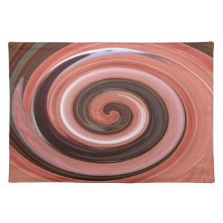 Swirl 01.06-Colors of Rust/Rost-Art Placemat