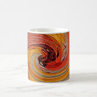 Swirl 02-Colors of Rust 2.2, Rust-Art Coffee Mug