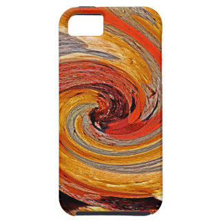 Swirl 02-Colors of Rust/Rust-Art iPhone 5 Cover