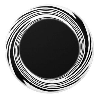 Swirl Accent Knob Ceramic Knob