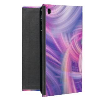 Swirl and Twirl - Pink, blue and purple wall art iPad Mini Cases